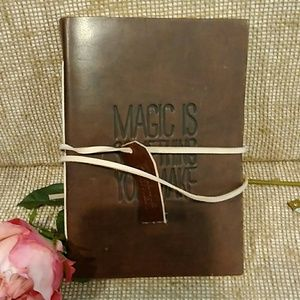 Hand made Genuine Leather Writers Journal